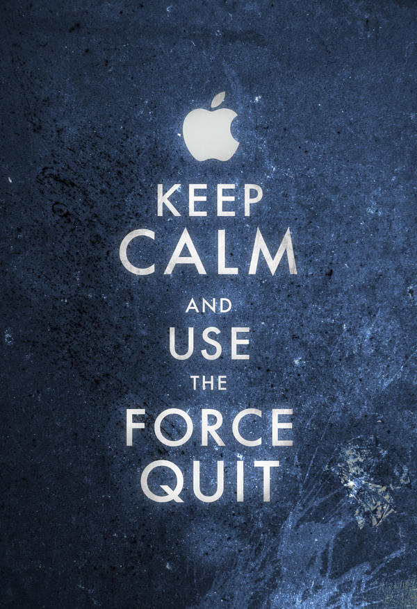 Keep Calm Mac User by ron-guyatt