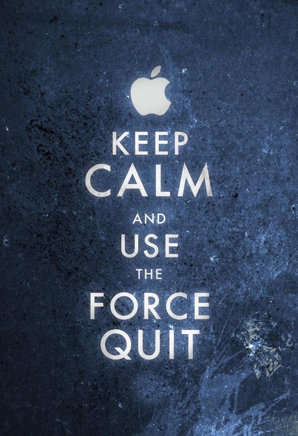 Keep Calm Mac User by ron-guyatt