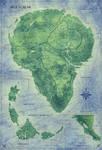 Jurassic Park Map - Isla Nublar - Color