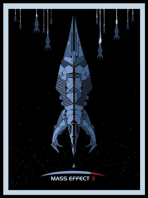 Mass Effect 3 - Dark Space by ron-guyatt