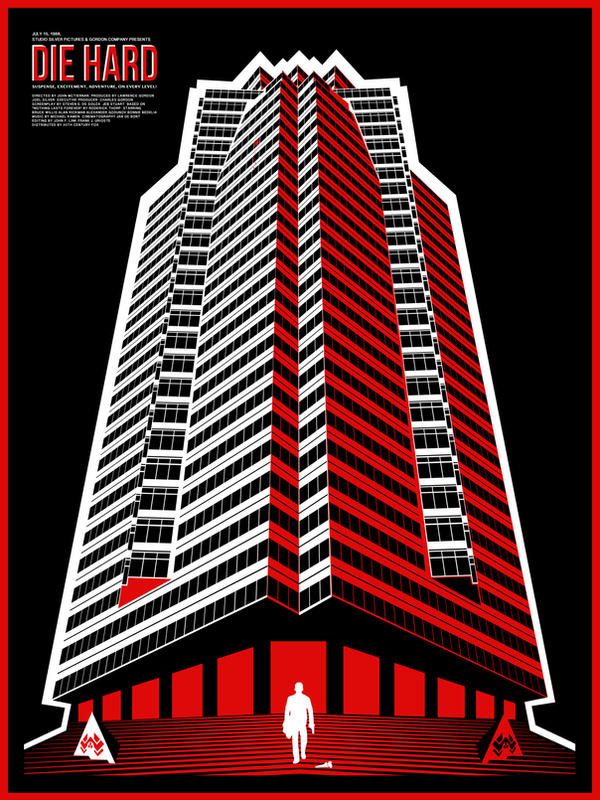 Die Hard by ron-guyatt