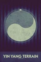 Yin Yang Terrain - Space Poster by FabledCreative