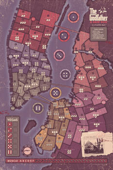 The Godfather - A New Don - IDW - Gameboard