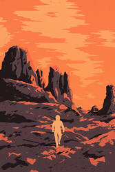 The Martian Journey by FabledCreative