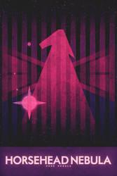 Dark Nebula - The Horsehead - Space Poster