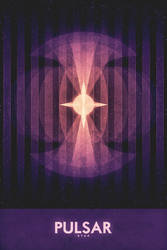 Star - Pulsar - Space Poster