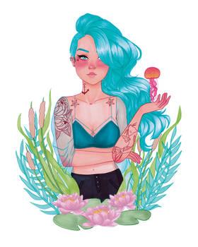 Calla - The Sea Witch is Familiar