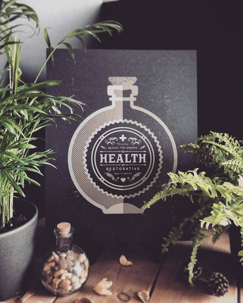 Bottle - Health Restorative