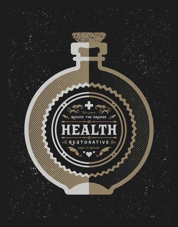 Bottle - Health Restorative by FabledCreative