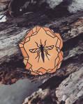 Mosquito in Amber - Hard Enamel Pin
