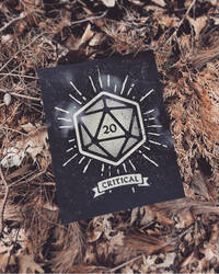 D20 Critcal Hit by FabledCreative