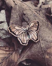 Butterfly - Hard Enamel Pin