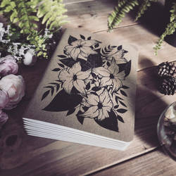 Flowers - Lined Notebook
