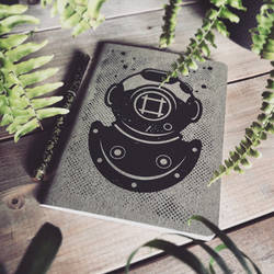 Deep Sea Diver - Lined Notebook
