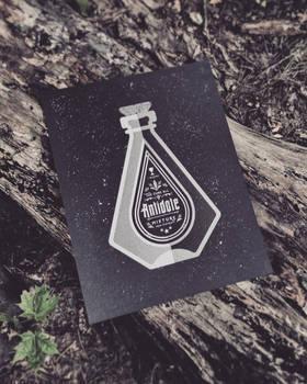 Antidote Mixture - Bottle