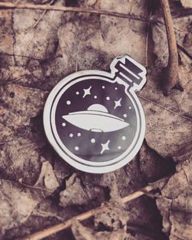 UFO in a Bottle