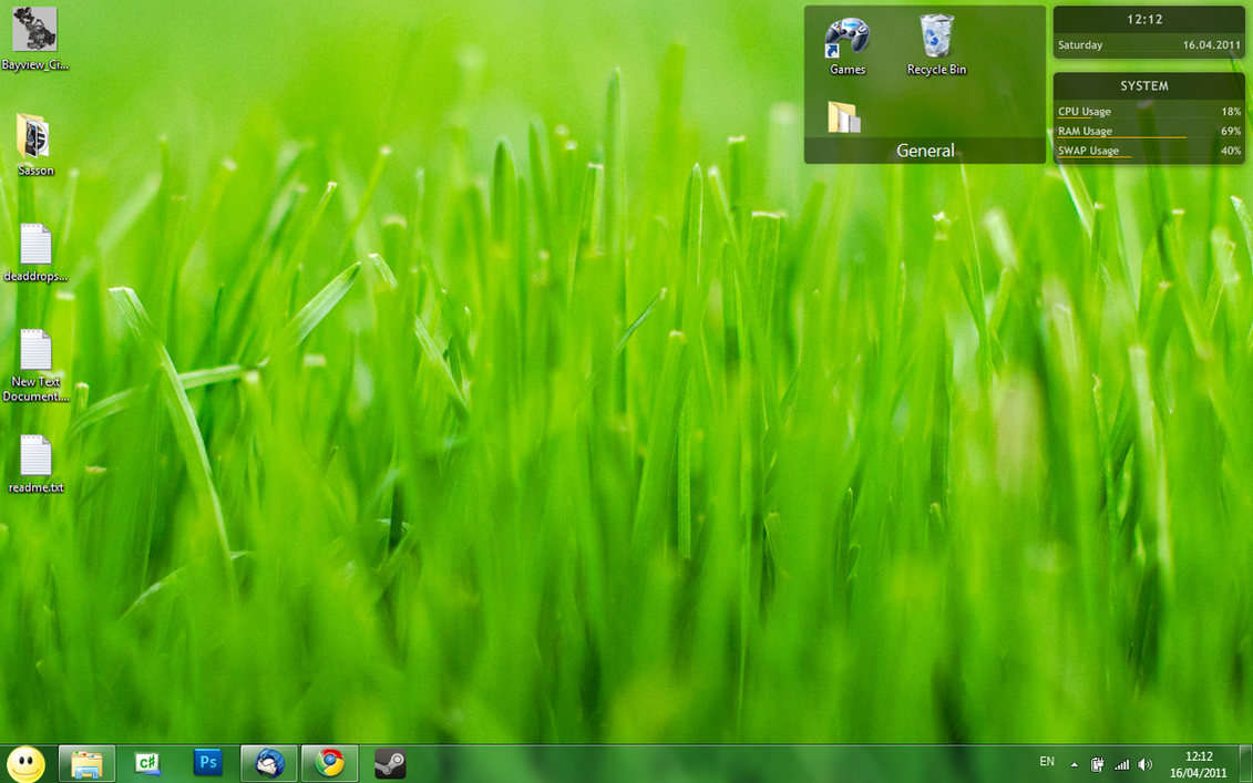Desktop 16-4-2011 by IlanF
