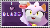 I love Blaze stamp by Blazes-Stamps