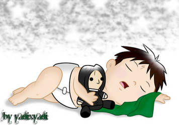 .:Naptime:. Baby Harry n Snape Plush by risaXrisa