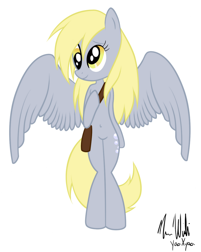 .:Derpy Hooves Anthro:. by risaXrisa