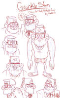 GF: Stan Character Study/Sketch Dump by risaXrisa