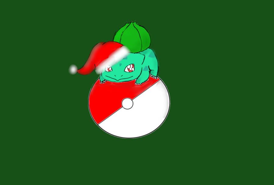 e3843fd4 Christmas Bulbasaur by Dragonastra on DeviantArt