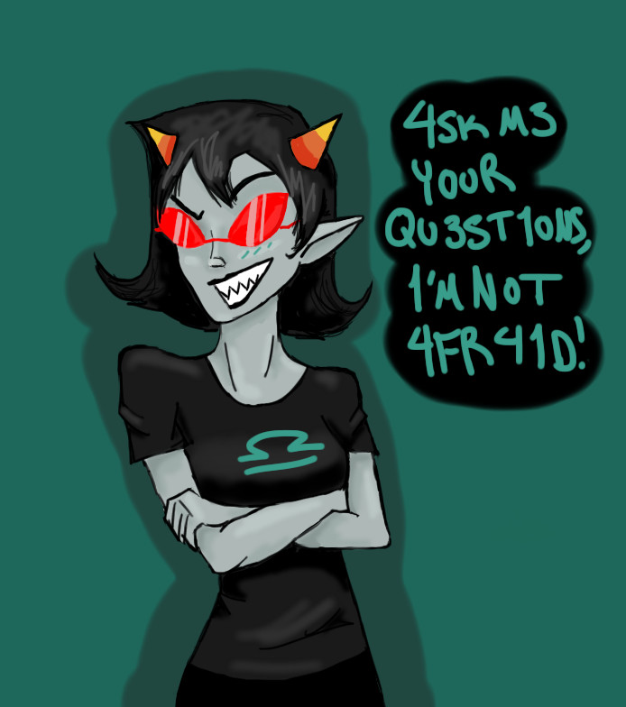 Ask Terezi by Dragonastra