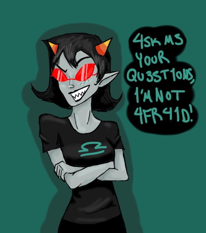 Ask Terezi by Dragonastra