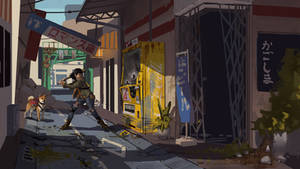 Post Apocalyptic Japan Alley