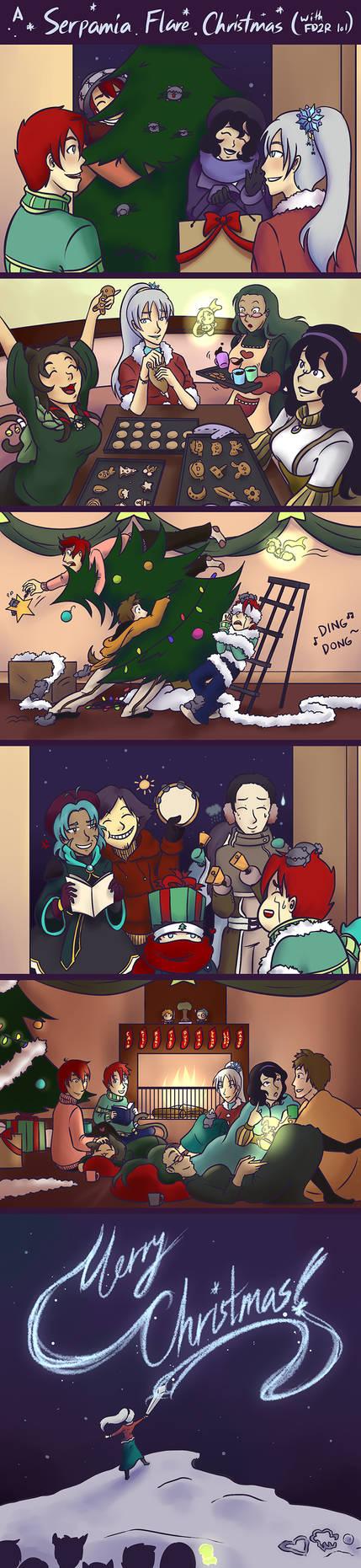 A Serpamia Flare Christmas (with FD2R) by CiciEnixa