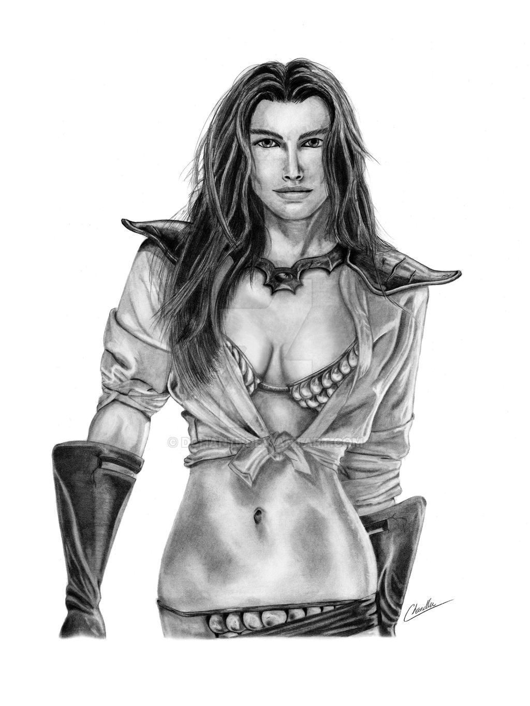 Female Warrior by DChan75