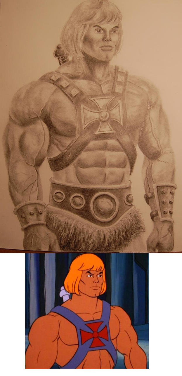 He Man Drawing Finished by DChan75