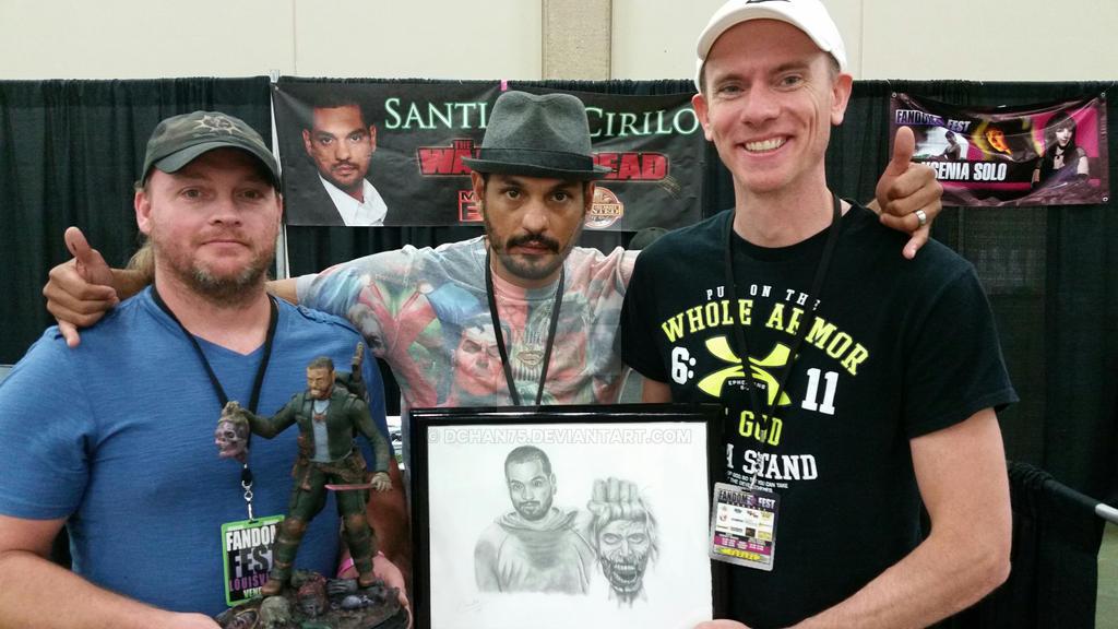 David Chandler Santiago Cirilo and Kevin Sexton by DChan75