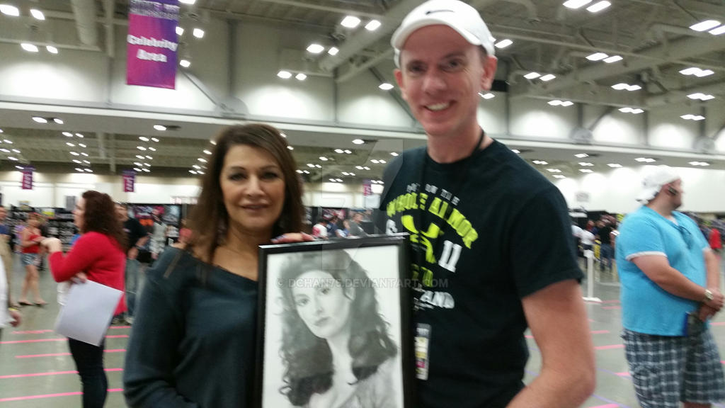 Marina Sirtis and David Chandler Fandom Fest by DChan75