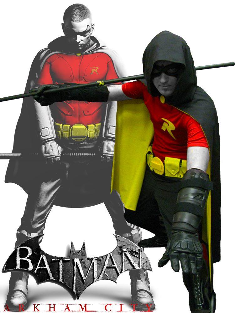 Arkham City Robin by EpicElectro on deviantART