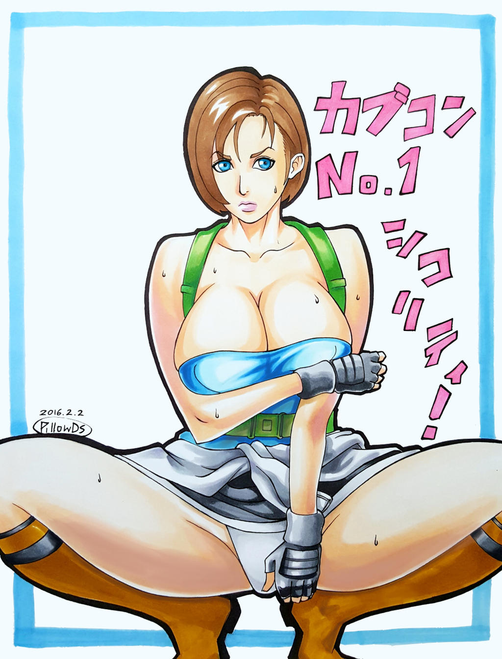 Jill Valentine - Sawao by pillowds
