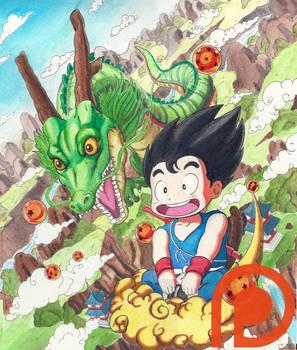 Wishing you were here - Dragon Ball