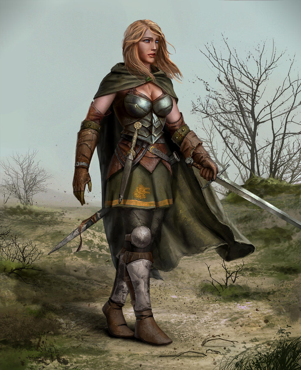 the woman warrior by Icemacob on DeviantArt