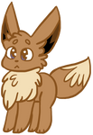 Eevee by W00FSICLE