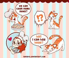 I can haz cute stuffz? by luniara