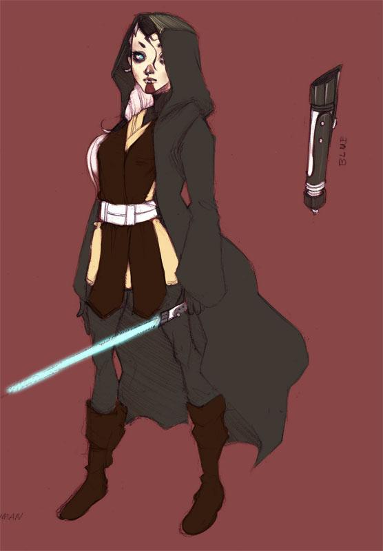 SWTOR - Jedi Knight by luniara