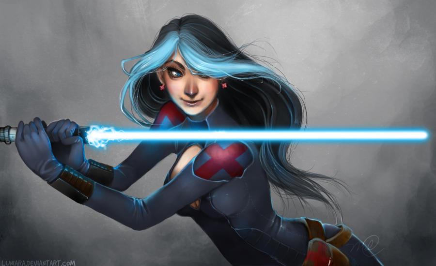 SWTOR - Nelia Jedi Medic by luniara