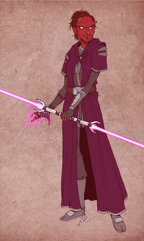 SWTOR - Lisen'tia - Sith Inquisitor by luniara