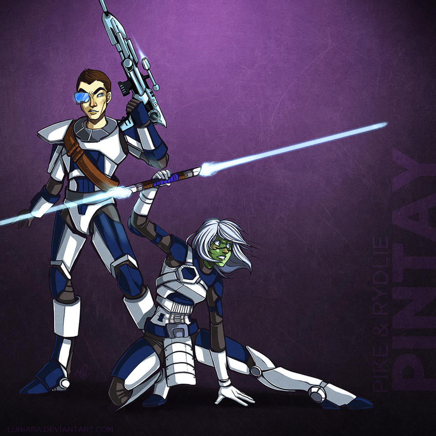 SWTOR - The Pintays by luniara