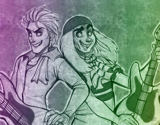 Mad T Party - commission for Bri by luniara