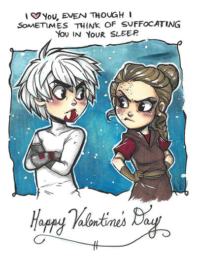 Valentine's Day Card by luniara