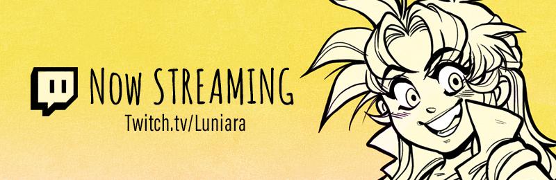 Livestream (ONLINE) by luniara