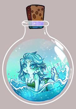Potion Bottle Sprite - Water