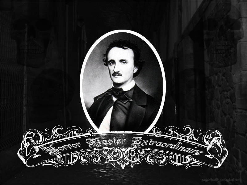 Edgar Allen Poe Wallpaper by sandalhat16 on DeviantArt