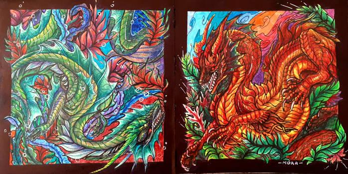 The dragon tribe